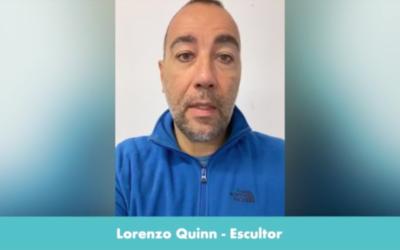 """El decidido apoyo del escultor Lorenzo Quinn al trabajo de Tecmolde y el """"crowdfunding"""" de las asociaciones. Emite un video de respaldo y realiza una importante donación"""